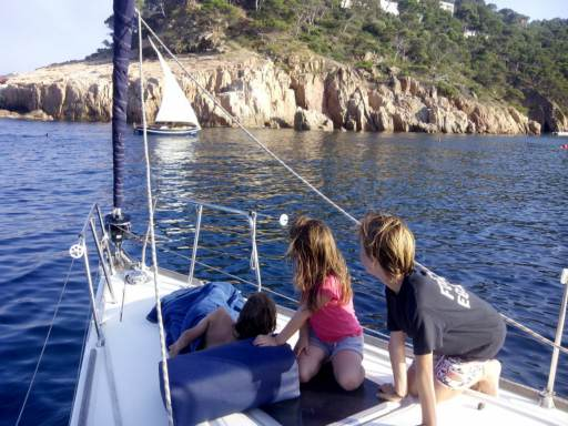 One sailing week with Dennis, a great vacation for kids
