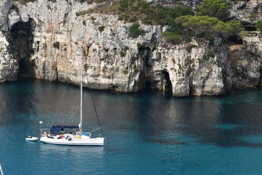 An idyllic week sailing around Menorca