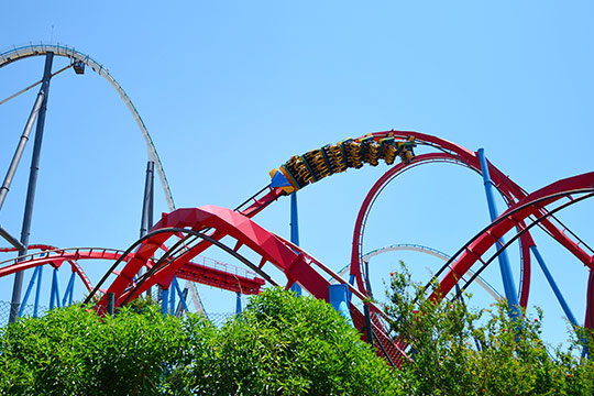 Port aventura amusement park, School trips to Barcelona