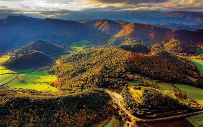 La Garrotxa, territoire de volcans