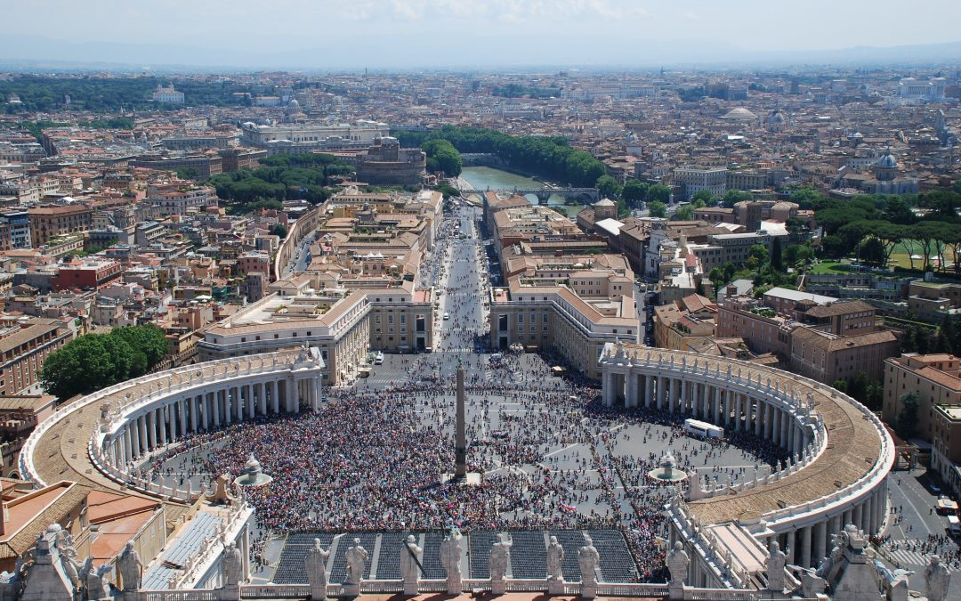 Rome general view from Vaticano